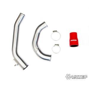 ATINTP&C4 KIT tubi tubazioni intercooler alluminio maggiorate manicotti silicone citroen ds3 peugeot 207 208 1.6 thp mtelaborazioni airtec motorsport