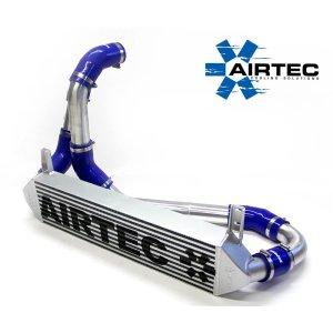 ATINTP&C6 intercooler maggiorato frontale airtec motorsport stage 2 citroen ds3 1.6 thp raffreddamento tubazioni alluminio silicone maggiorate mtelaborazioni