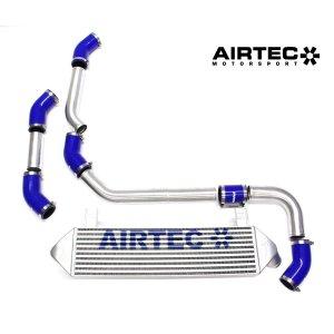 ATINTP&C7 intercooler maggiorato frontale girotubi maggiorati alluminio airtec peugeot 208 gti mtelaborazioni 1.6 thp