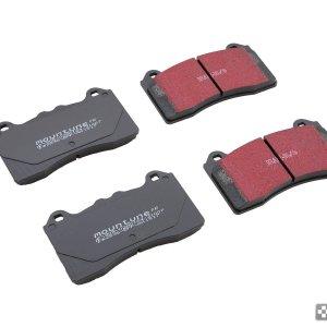 2536-BPF-AA pastiglie anteriori mountune fast road ebc sport brake ford focus rs mk3 mtelaborazioni dealer rivenditore
