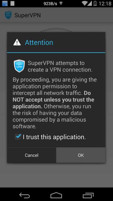 29aabfc8b تحميل برنامج سوبر VPN لفتح انترنت VPN مجاني للاندرويد
