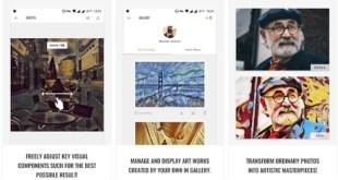 تطبيق GoArt لتحويل الصور العادية الى رسومات ولوحات فنية