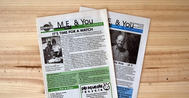 M.E. & You Newspaper