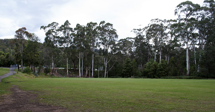 Lower oval at Mt Evelyn Recreation Reserve