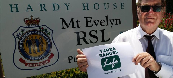 Yarra Ranges LIFE TV interviews Roger Boness