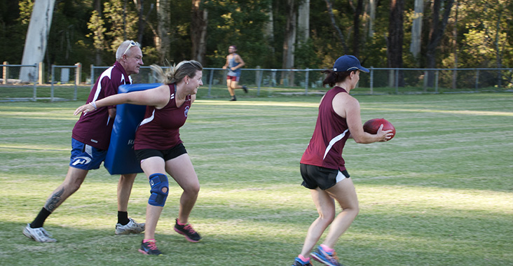 Senior Womens Footy Training
