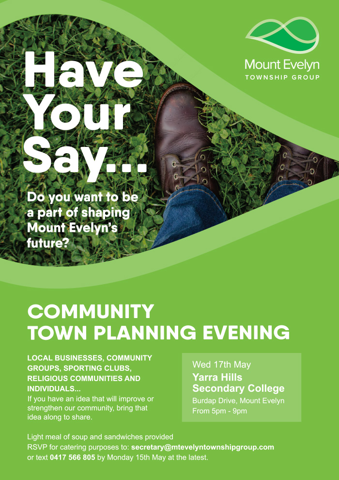 Have your say day flyer