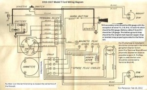 Model T Ford Forum: Can you read the wiring diagram?