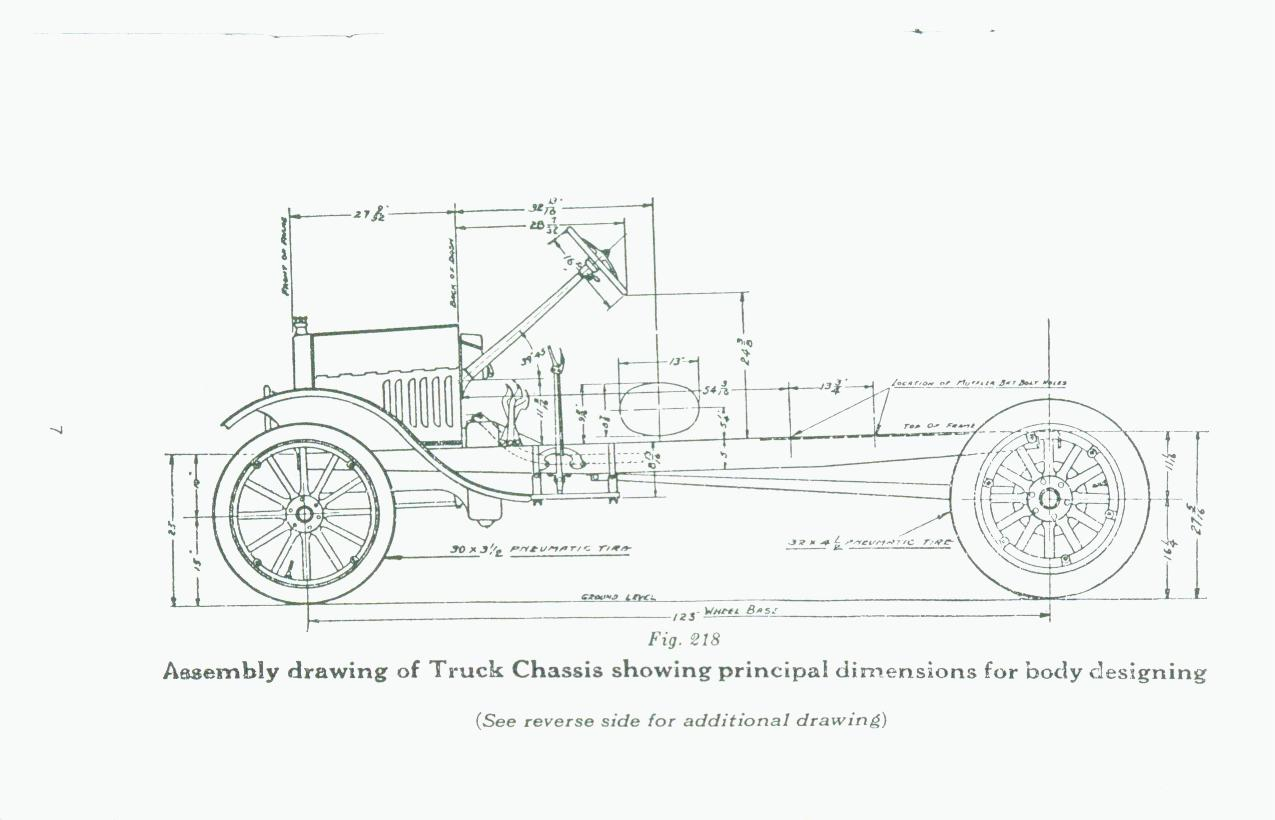 Model T Ford Forum Looking For 27 Sideview Drawing