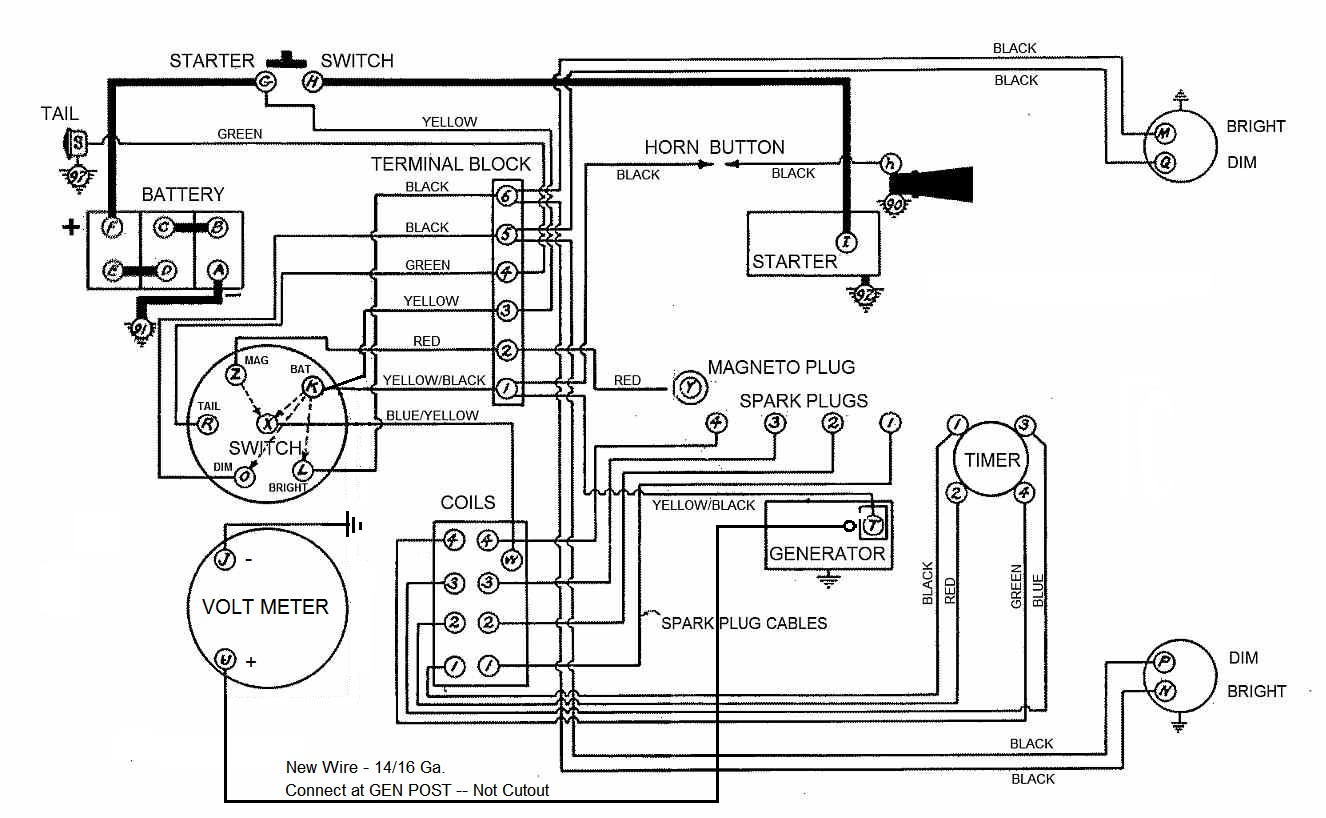 Volt Gauge Auto Wire Schematic