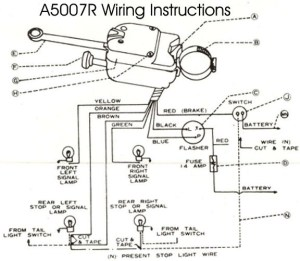 Model T Ford Forum: Wiring diagram turn signal