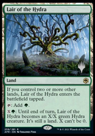 Lair of the Hydra (Promo Pack)