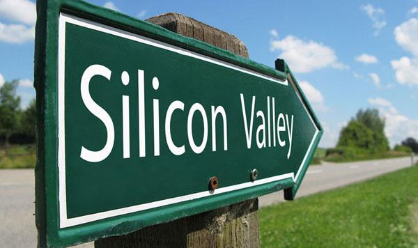 Silicon Valley Arrow Sign
