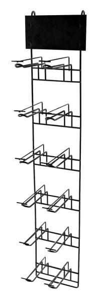 Торговая стойка 2х6 (черная)