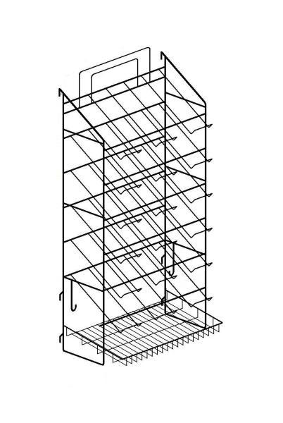 Блок-мастер ВМ 3х7 с корзиной