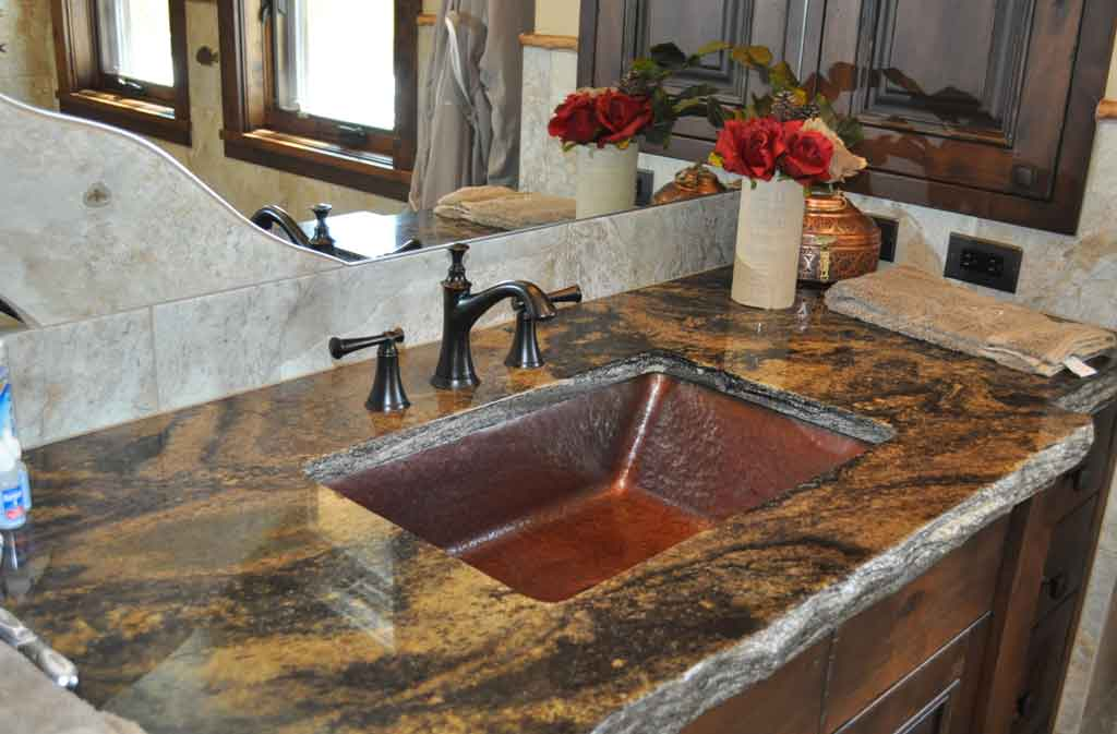 copper trough sink-hand crafted in montana u.s.a