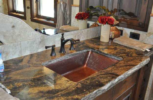 copper trough sink-hand crafted in montana u.s.a