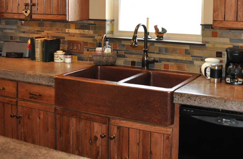 Farm Front Kitchen Sinks Mountain Copper Creations