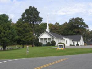 Picturesque Meadows of Dan Baptist Church