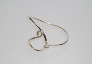 sterling silver bracelet by Asheville artist Kim Thompson