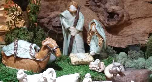 Ceramic Indoor Nativity Scene