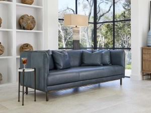 TINDRA LEATHER SOFA