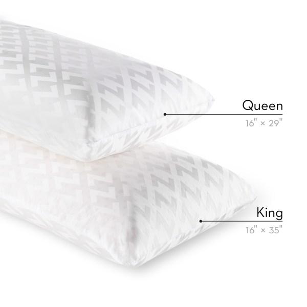 Zoned Dough® + Bamboo Charcoal King High Loft