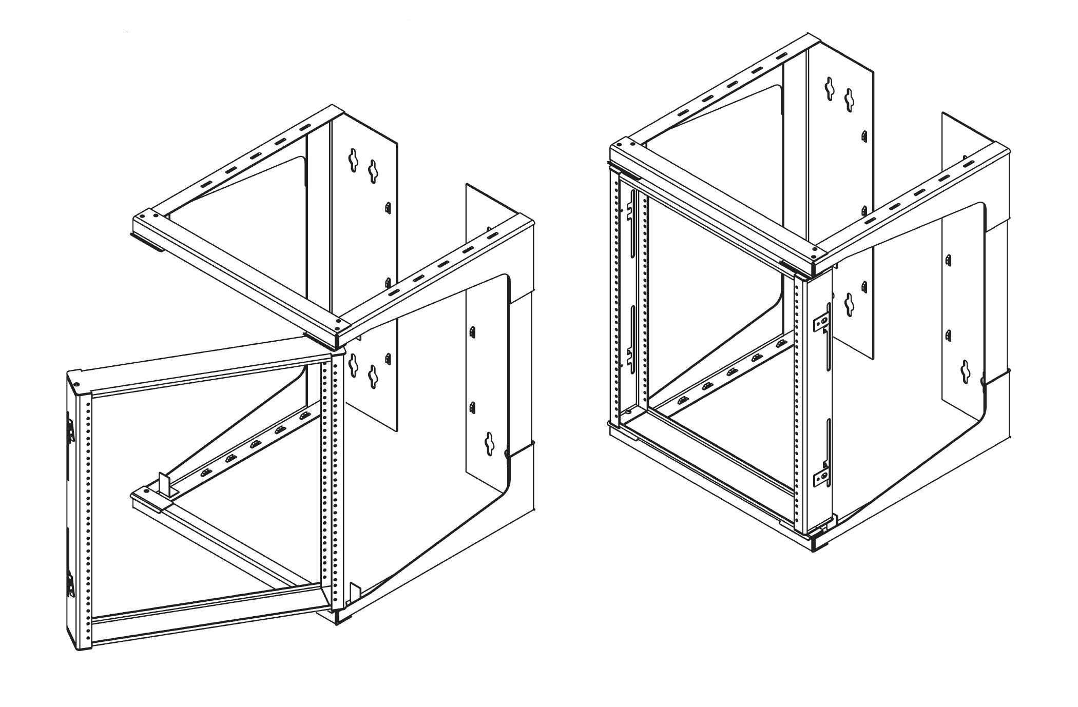 Relay Rack Standoff Bar