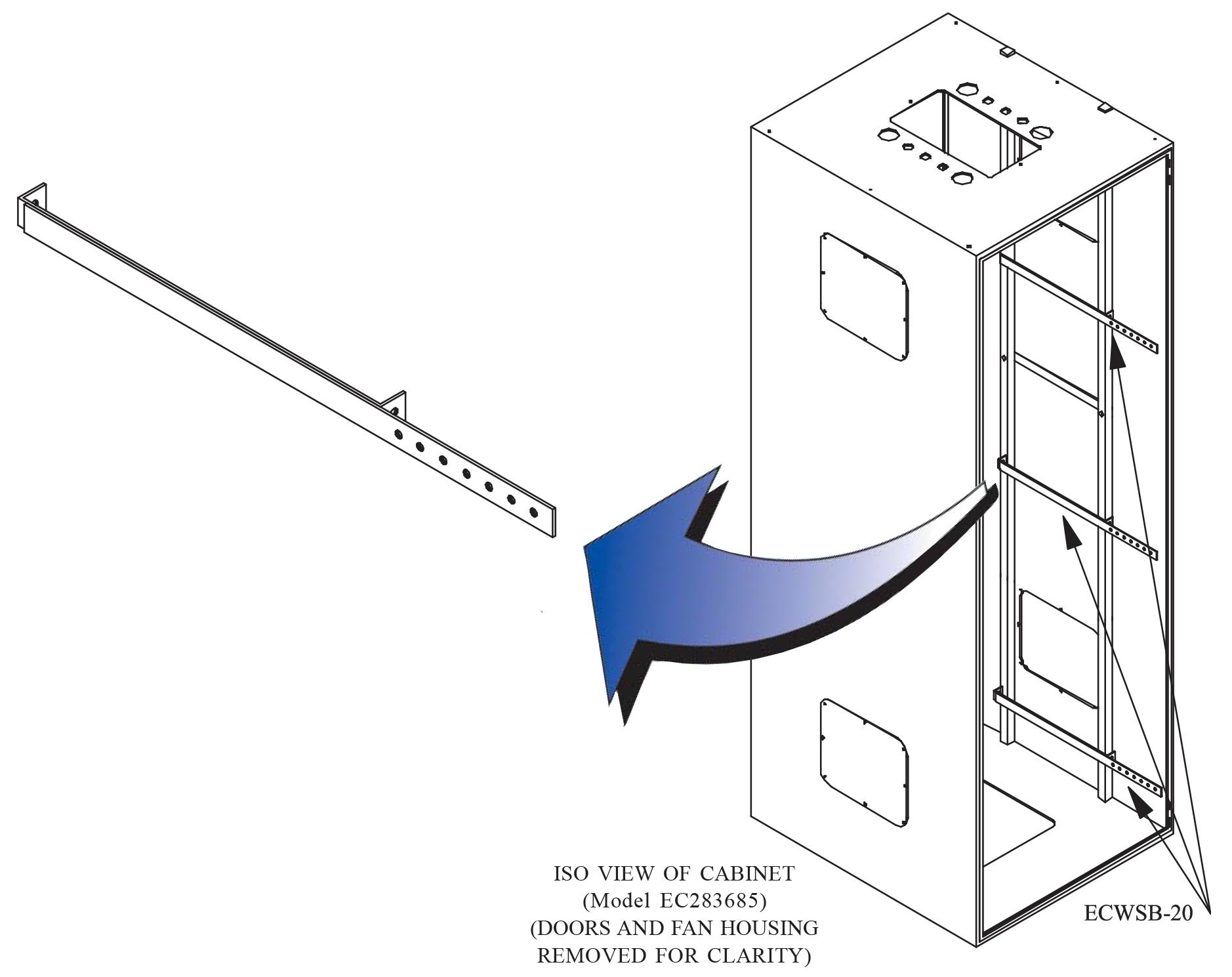 J Bolt Kit Eccb To Ladder Rack