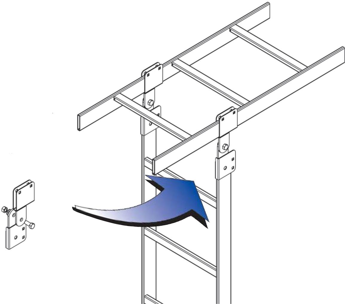 Vertical Adjustable Runway Connection Kit