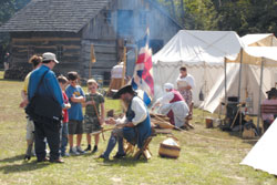 Danville Camp Setting