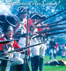 British Line in Battle