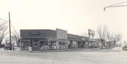 Shopper's Center on Prospect Avenue, circa 1950