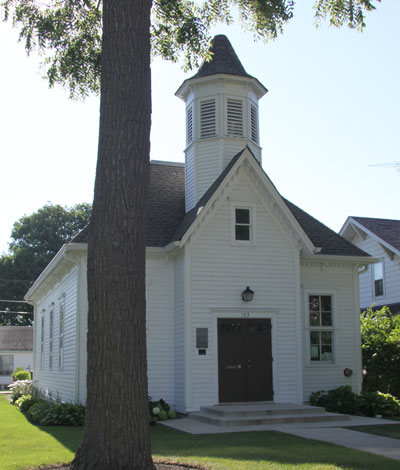 Image result for mount prospect central school house