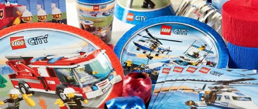 Lego City Party Supplies For Kids Birthday Themes At Mtrade
