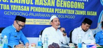 Rapat Evaluasi Pendidikan, Ketua Yayasan Puji Perkembangan Pesat MTs. Zaha