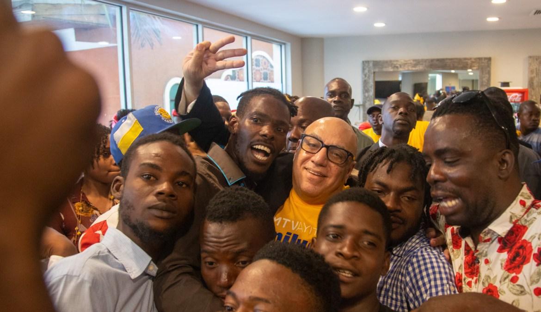 Boulos présente officiellement le MTVAyiti et veut recruter 1 million de jeunes.
