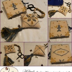 A Little Primitive Sewing Set