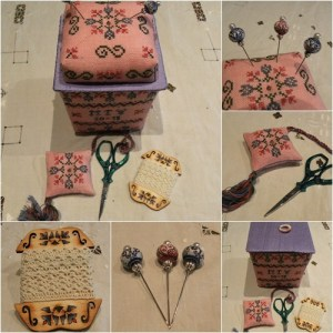 a little spring sewing basket