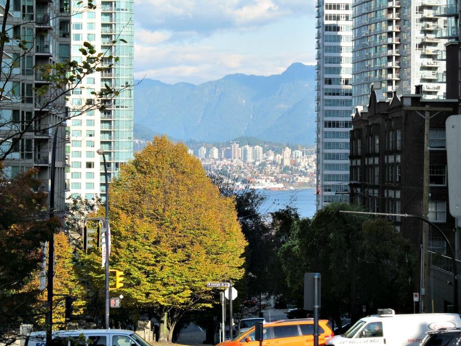Северный Ванкувер осенью