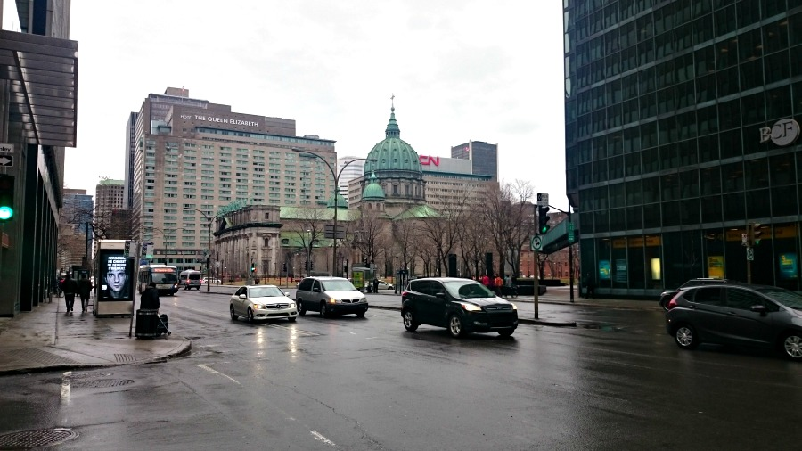 поездка в Монреаль