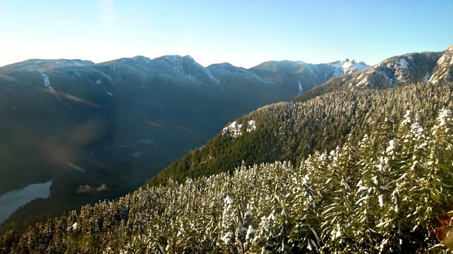 зима в Ванкувере