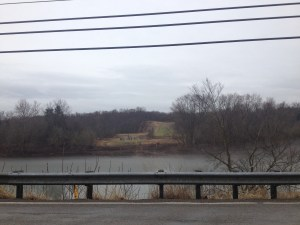 The Mariner East I pipeline crossing on the Youghiogheny River between West Newton and Sutersville, PA.