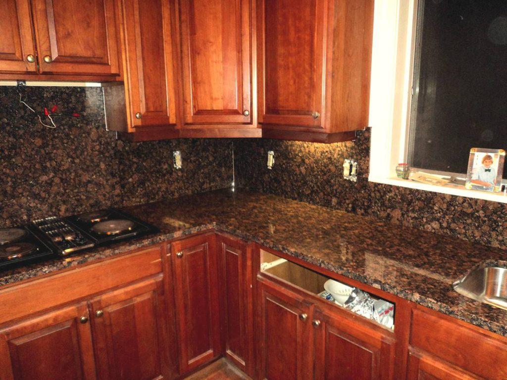 Kitchen Granite Counter Tops   Home Improvement on Backsplash Ideas With Granite Countertops  id=65196