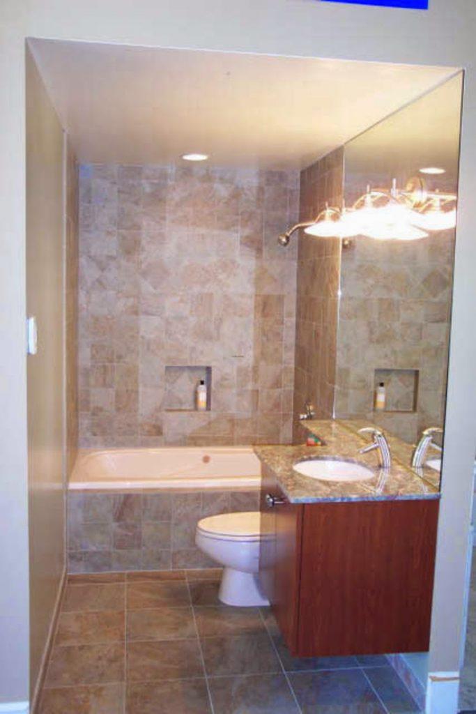 Ideas for Small Bathrooms | Home Improvement on Bathroom Ideas On A Budget  id=89454