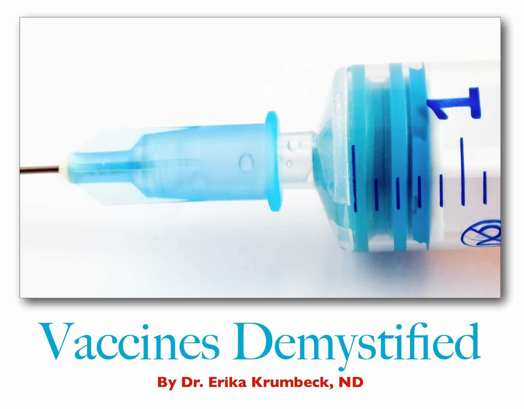 Vaccines Demystified