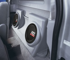 Ford F150 Regular Cab 19972003 ThunderForm Custom Subwoofer Enclosure   MTX Audio  Serious