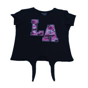 Girl's LA Printed T-Shirt
