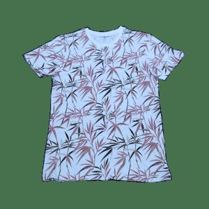 Men's Ribbed on Sleeve Hem T-Shirt
