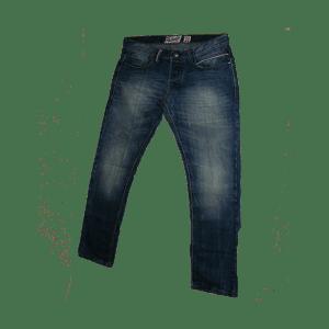 Men's 5 Pockets Slim Straight Fit Jean